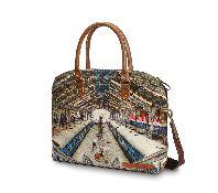 Central laptop bag - Nappa Dori