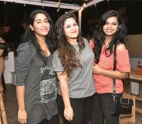 Janani, Keerthi and Robertina